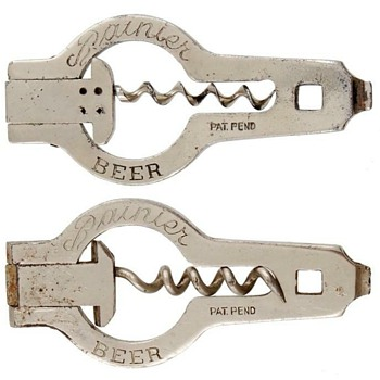 Rainier Beer Opener Corkscrew