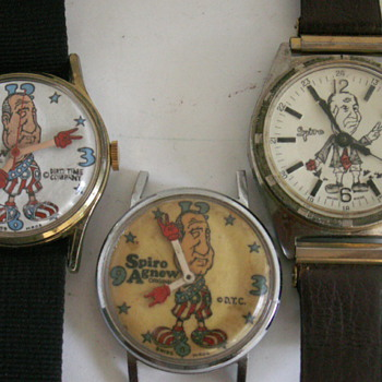 Spiro Agnew Wristwatch Collection - Wristwatches