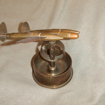 My New Trench Art that can be seen at the Chickamauga (Dalton) Civil War Show - Military and Wartime