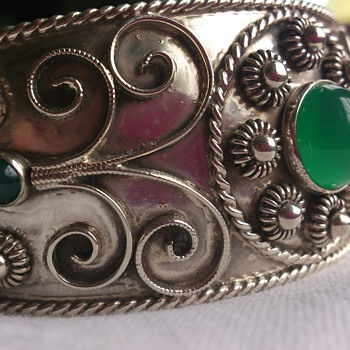 My 1954 silverbangle - this was underneath the oxidation - Fine Jewelry