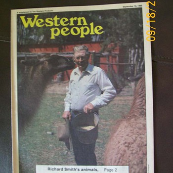 My Other Surprise from Walksoft . Old Paper with my Rodeo Uncle Featured