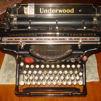 1922 Underwood nr.3 Desktop typewriter - Office