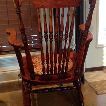 Recently bought rocking chair