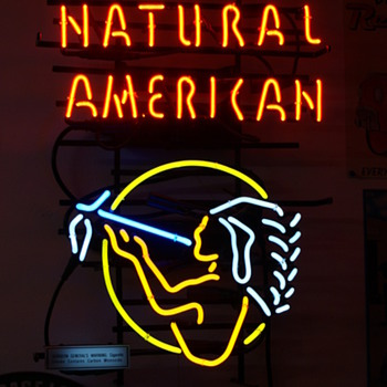 Natural American neon sign - Signs