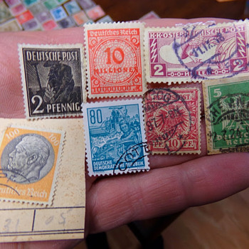 German Stamp Collection