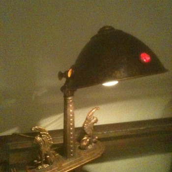 Gryphan Desk Lamp from 1910-1915