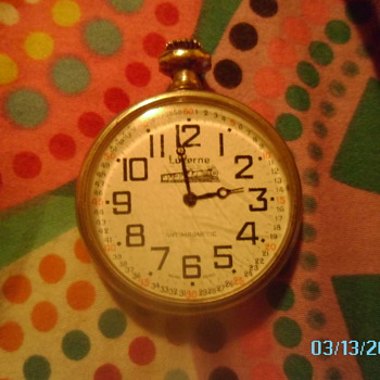 an old pocket watch its a lucerne and i would love to know more about it!