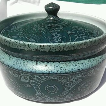 Felix Tissot- ceramic dish - Art Pottery