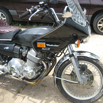 My 1977 Hondamatic 750A - Motorcycles