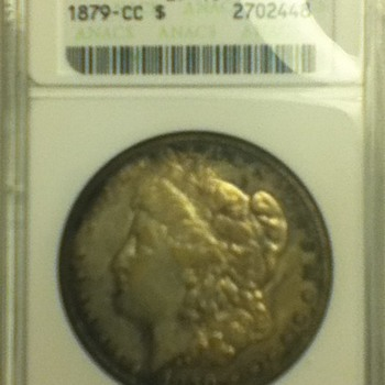 1879 Carson City Morgan Dollar