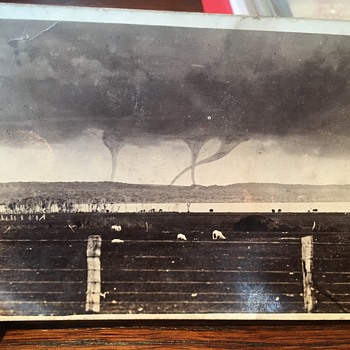 Waterspouts Chatham Islands 1912 - Postcards