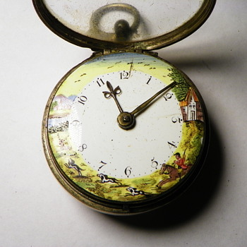 Very old pocket watch signed by Wm. Batson, London - Pocket Watches