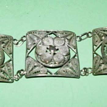 Abuela Leo's filigree bracelet - Fine Jewelry