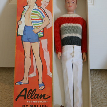 Early &#039;60&#039;s dolls