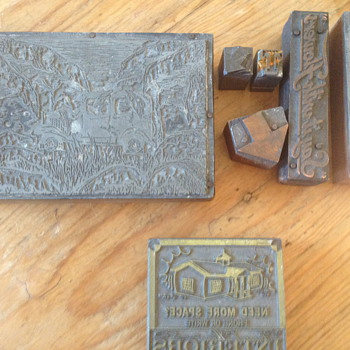 I never really looked into these printing blocks...