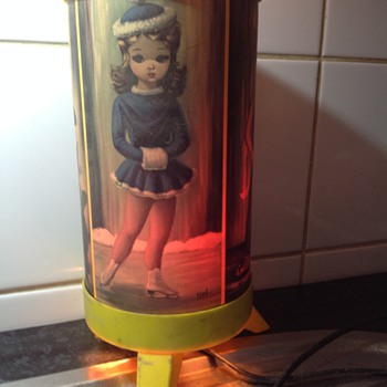 Old childhood lamp