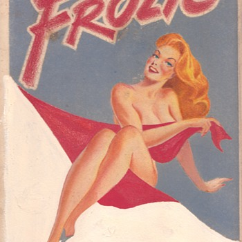 Warren King Original Pin up Art for Frolic Digest 1945