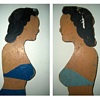 Wooden Bathing Beauty Folk Art collection Jim Linderman