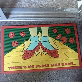 Wizard of Oz door mat