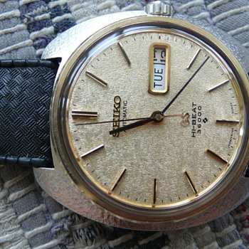 Grand Seiko 6146-8030 1969s - Wristwatches