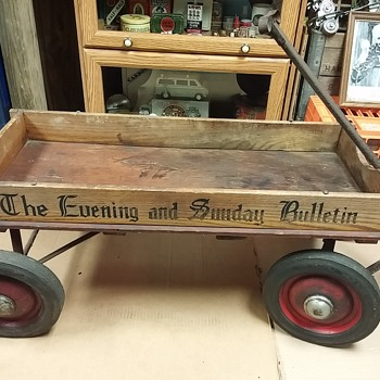 The Bulletin wagon - Advertising