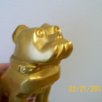 Mack Truck hood Ornament not beautiful like Phil&#039;s I have a Bulldog :-) 