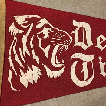 Detroit Tiger Pennant
