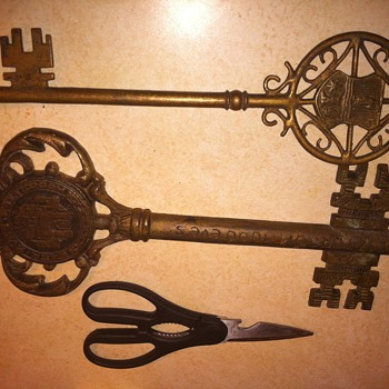 keys to the city of estergom hungary - Tools and Hardware