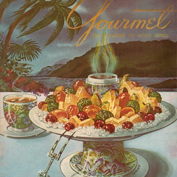 "1954 - ""Gourmet"" Magazine Cover"