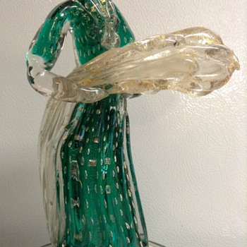 Murano Glass Figurine by Gio Ponti for Barovier c. 1920s-1930s - Art Glass