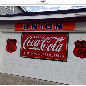 CocaCola sign - Coca-Cola
