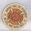 Beer Coaster Support your fire department