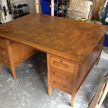 Looking for info on oak partner desk