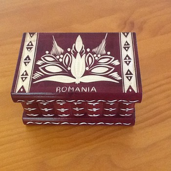 Romanian Puzzle Box - Fine Jewelry