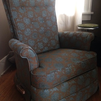 Vintage lazy boy recliner