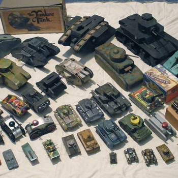 I think I have an addiction! The tank division lines up.  - Toys