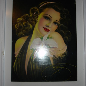 """BILLY DEVORSS PINUP PRINT"" - Posters and Prints"