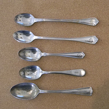Railroad Dining Car Flatware