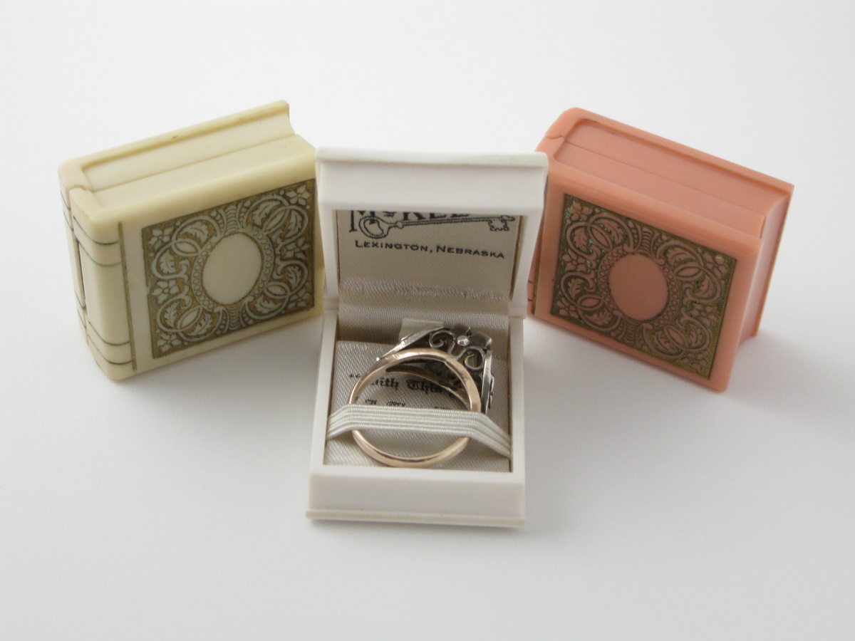 white book ring box collectors weekly