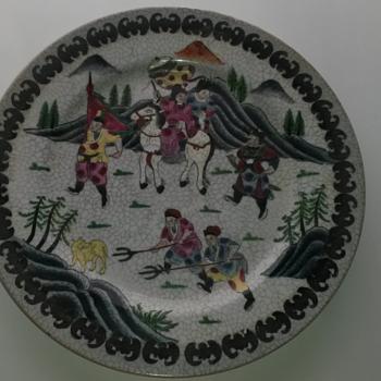 Oriental Plate - Asian