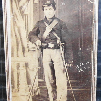 Cavalryman with his Carbine.