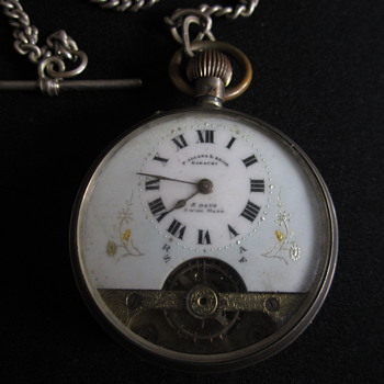 Ancre Silver Pocket watch P. Allana & Bros. 1910 I got it from my grandmother & want to know more about this beautiful watch.