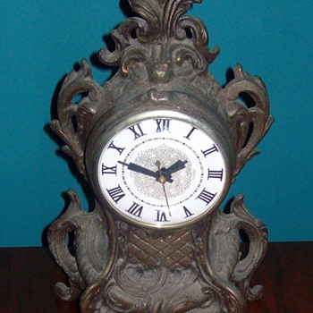 "Older ""cast"" clock"