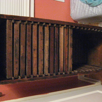 Antique Printer's Cabinet?