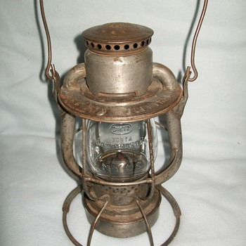 New York Central System lantern