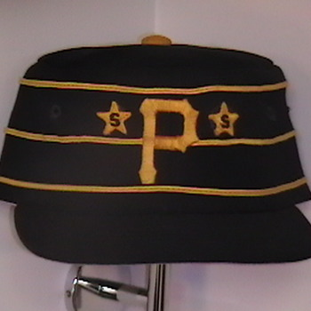 Game Used Dale Berra Pirates Cap