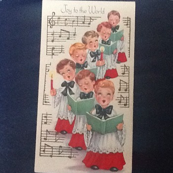 More Christmas! Vintage cards