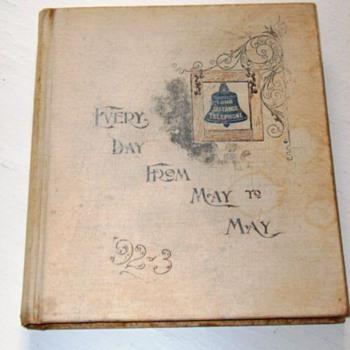 1892 American Bell Telephone Date Book