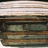 Steamer trunk, round top