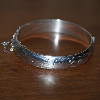 Birks Vintage Sterling Silver Bangle